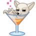 72x72px size png icon of dog cocktail alkohol