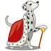 72x72px size png icon of dog dalmatian king