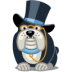 72x72px size png icon of dog rich