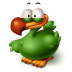 72x72px size png icon of The Extinct Flightless Adium Bird