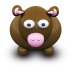 72x72px size png icon of BrownCow