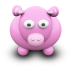 72x72px size png icon of PinkCow