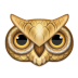 72x72px size png icon of owl