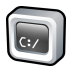 72x72px size png icon of Command Prompt