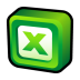 72x72px size png icon of Microsoft Office Excel
