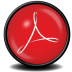 72x72px size png icon of Acrobat Reader 8