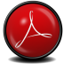 72x72px size png icon of Acrobat Reader X