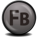 72x72px size png icon of Flash Builder CS 4