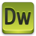 72x72px size png icon of adobe Dw