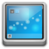 72x72px size png icon of Places user desktop