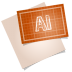 72x72px size png icon of adobe blueprint ai
