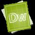 72x72px size png icon of adobe blueprint dreamweaver