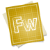 72x72px size png icon of adobe blueprint fireworks