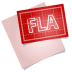 72x72px size png icon of adobe blueprint fla