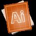 72x72px size png icon of adobe blueprint illustrator