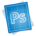 72x72px size png icon of adobe blueprint photoshop