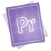 72x72px size png icon of adobe blueprint premiere
