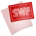 72x72px size png icon of adobe blueprint swf