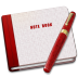 72x72px size png icon of Closed Note Alt