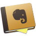 72x72px size png icon of Evernote Brown Alt