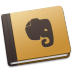 72x72px size png icon of Evernote Brown
