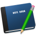 72x72px size png icon of Note Book Alt