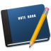 72x72px size png icon of Note Book