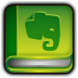 72x72px size png icon of Evernote Book