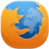 72x72px size png icon of firefox