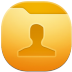 72x72px size png icon of folder users