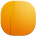 72x72px size png icon of live folder back