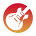 72x72px size png icon of Garageband