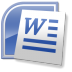 72x72px size png icon of Word