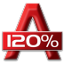 72x72px size png icon of 120 Percent Alcohol