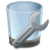 72x72px size png icon of Uninstall Tool