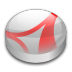 72x72px size png icon of Adobe Reader 7