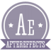72x72px size png icon of a aftereffects