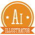 72x72px size png icon of a illustrator