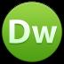 72x72px size png icon of Adobe Dreamweaver