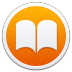 72x72px size png icon of Apple Books Border