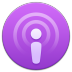 72x72px size png icon of Podcasts