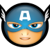 72x72px size png icon of Avengers Captain America