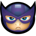 72x72px size png icon of Avengers Hawkeye