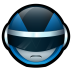 72x72px size png icon of Bioman Avatar 3 Blue