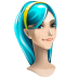 72x72px size png icon of browser girl internet explorer