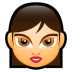 72x72px size png icon of Female Face FA 4