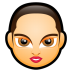 72x72px size png icon of Female Face FA 5