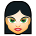 72x72px size png icon of Female Face FI 4