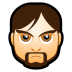 72x72px size png icon of Male Face I1
