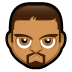 72x72px size png icon of Male Face O1